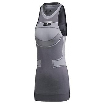 Adidas By Stella Mccartney Grey Polyester Top