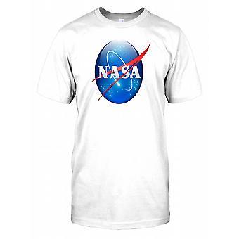NASA Logo Bright Mens T Shirt