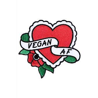 Sourpuss Clothing Vegan A.F Patch