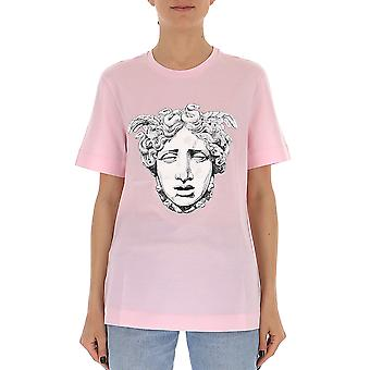 Versace rosa bomull T-shirt