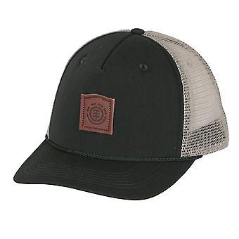 Element Mens Trucker Snapback Cap ~ Wolfboro olive