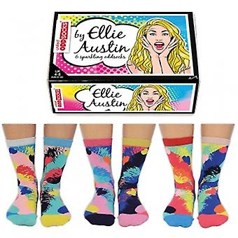 United Oddsocks Ellie Austin Sparkling Ladies Novelty Gift Socks
