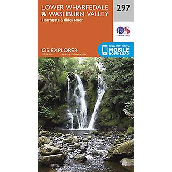 Lower Wharfedale and Washburn Valley (September 2015 ed) by Ordnance