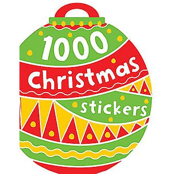 1000 Stickers - Christmas by Thomas Nelson - 9781782355724 Book