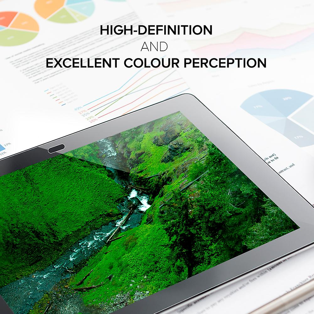 Celicious Vivid Invisible Glossy HD Screen Protector Film Compatible with Lenovo TAB 2 A10-30 [Pack of 2]