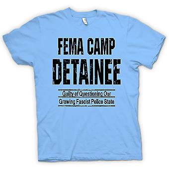 Kids T-shirt - FEMA - Camp Detainee - Police State - Conspiracy