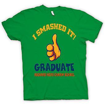Mens T-Shirts - ich zerschmetterte es - Fußball