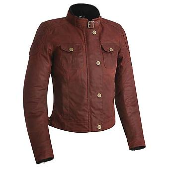 Oxford Red Holwell 1.0 Chaqueta de moto para mujer