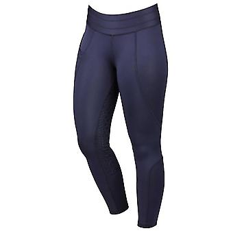 Dublin Performance Compression Womens Riding Tights - Azul Marino
