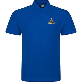 Royal Artillery-licenseret British Army broderet RTX Polo