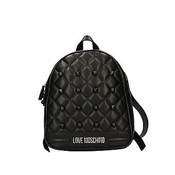 Love Moschino Bag Matt Nappa Pu Backpack Women (Black) 30x11x25 cm (W x H x L)