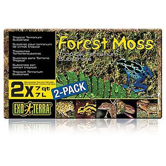 Exo Terra Forest Moss 2 X 7Ltr