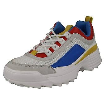 Reflex Womens/Ladies Mid Chunky Sole Trainers