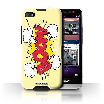 STUFF4 Case/Cover voor Blackberry A10/Boom! / strips/Cartoon woorden