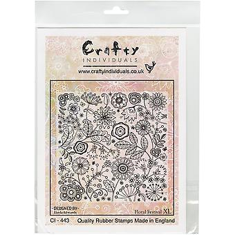 Crafty Individuals Unmounted Rubber Stamp 8.25