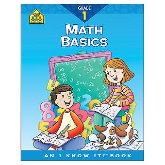 Curriculum Workbooks 32 Pages Math Basics Grade 1 Szcur 02028