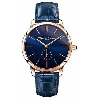 Thomas Sabo Ladies Glam Spirit Blue Leather WA0250-270-209-33 Watch