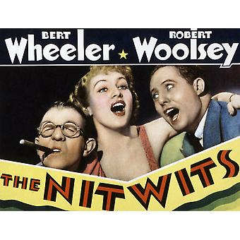 The Nitwits Robert Woolsey Betty Grable Bert Wheeler 1935 Movie Poster Masterprint