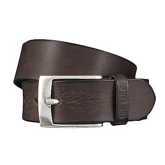 TOM TAILOR belt leather belts men's belts jeans belt Brown 4350