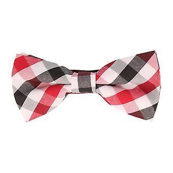 Andrews & co.-bound fly loop Plaid red white anthracite