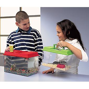 Faune-boîte assortiment de couleurs 10ltr 34x20x22cm (Pack de 3)