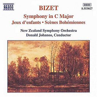 G. Bizet - Bizet: Symphony in C Major; Jeux D'Enfants; Sc Nes Boh Miennes [CD] USA import