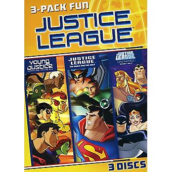 Justice League 3 Pack Fun [DVD] USA import