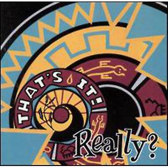 That's It! - Really? [CD] USA import