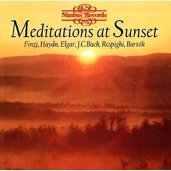 Méditations au coucher du soleil - importer des méditations au coucher du soleil [CD] é.-u.