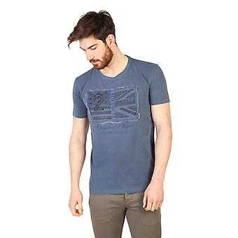 U.S. Polo T-shirts Blue Men