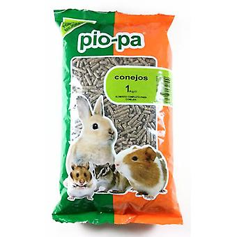 Pio-Pa Rabbits 1 Kg. (Small animals , Dry Food and Mixtures)