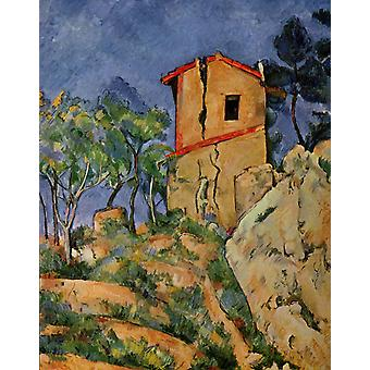 Paul Cezanne - An Old House Poster Print Giclee