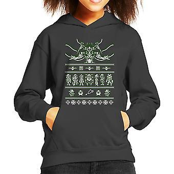 Chrono jul ful tröja Kid är Hooded Sweatshirt