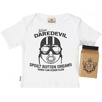 Spoilt Rotten SR Dreams Future Daredevil Baby T-Shirt