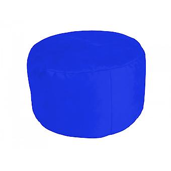 Pouf Noble Soft royal-blue Ø47/34 cm