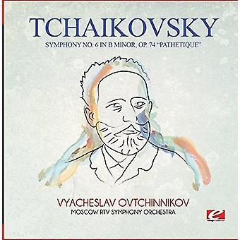 Czajkowski – Symfonia nr 6 w USA B moll Op. 74 Patetyczna [CD] importu