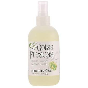 Instituto Español Fresh drops Eau de Cologne Spray 250 Ml (Parfümerie , Perfumes)
