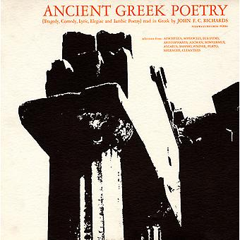 John F.C. Richards - Ancient Greek Poetry-Tragedy Comedy Lyric Elegiac [CD] USA import