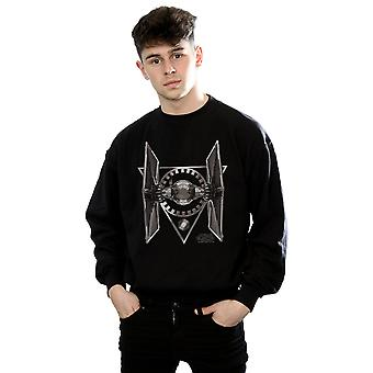 Star Wars Men's The Last Jedi Tie Fighter Sweatshirt