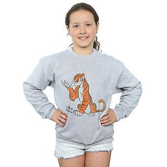 Disney Girls The Jungle Book Classic Shere Khan Sweatshirt