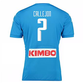 2016-17 Napoli authentiek thuis Shirt (Callejon 7)