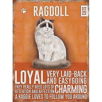 Medium Wall Plaque 150 x 200mm Ragdoll Cat