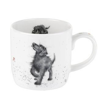 Royal Worcester Wrendale Walkies Dog Single Mug