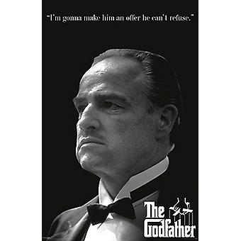 Godfather An Offer He Cant Refuse Poster Print (24 x 36)