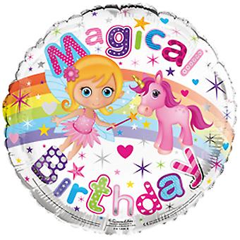 Simon Elvin 18 Inch Magical Birthday Foil Balloon