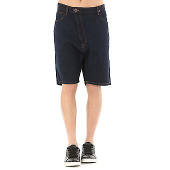 Anglomania mens DS0IWBDS09W01 Blau cotton of shorts