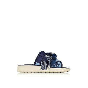 Marc Jacobs women's M9002037400 Blau polyester sandals