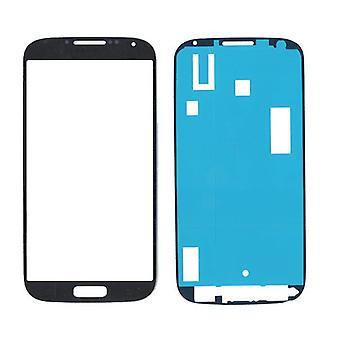 Samsung Galaxy S4 i9500 vidrio/pantalla/pantalla con etiqueta negra