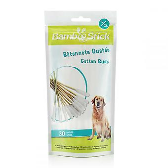 BambooStick Pet Cotton Buds (Pack Of 30)