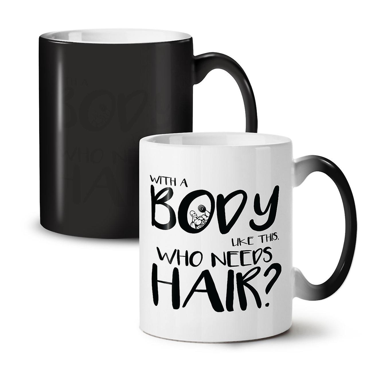 11 De Cheveux Corps Céramique Besoin Nouvelle Thé Tasse Café Changeant Noir Ont OzWellcoda Couleur 80PnwkO